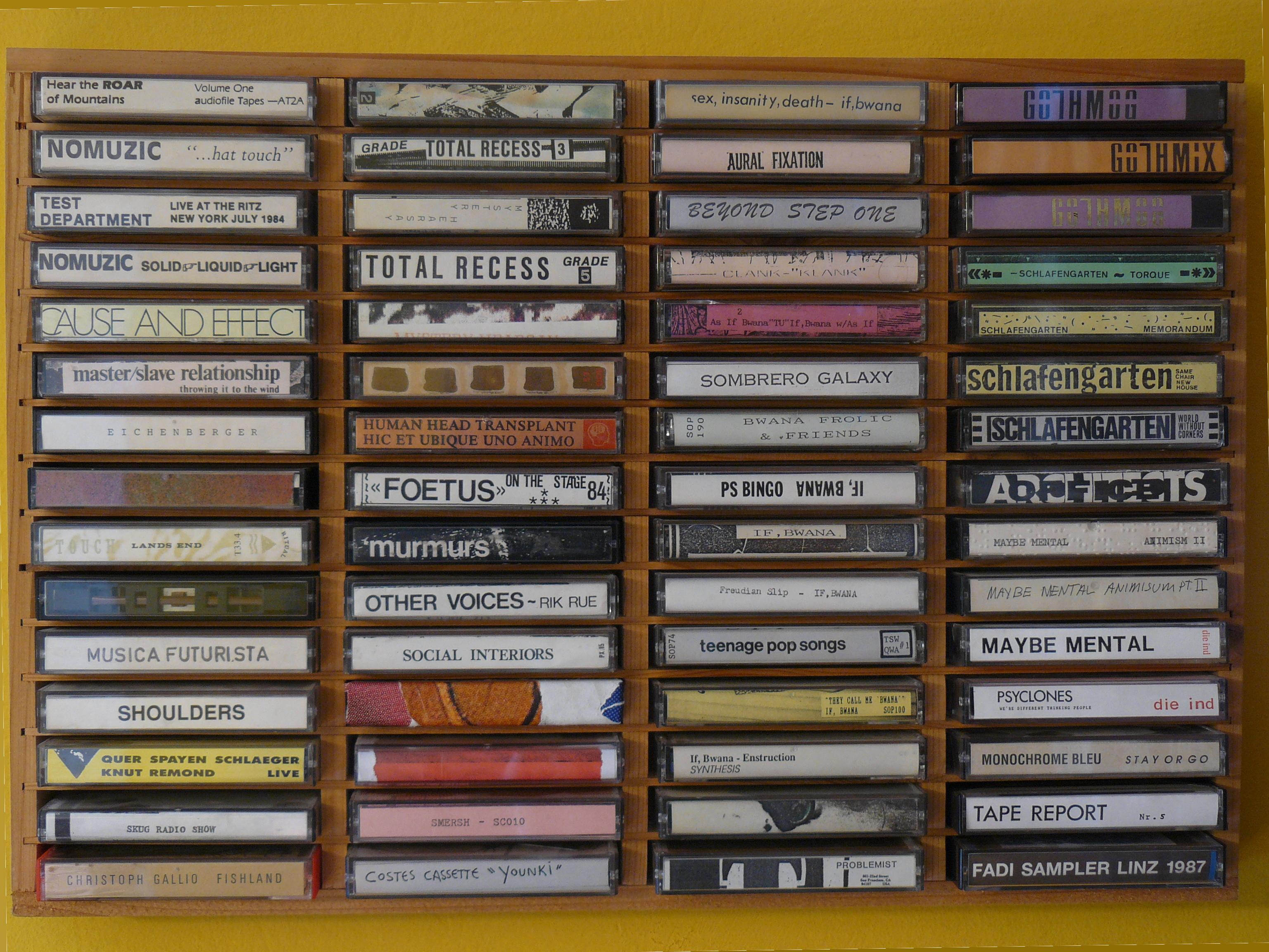 Cassette Culture von Wolfgang Dorninger; Copyright: Wolfgang Dorninger